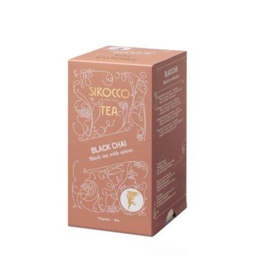 Sirocco Black Chai - 20 saszetek