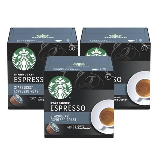 Starbucks Dolce Gusto Espresso Roast 12 kapsułek x 3