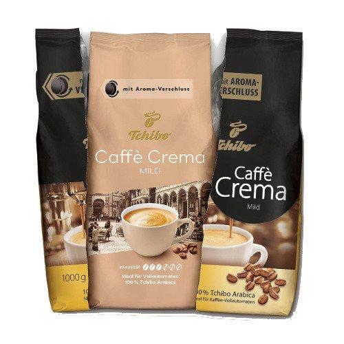 Tchibo Caffe Crema Mild 1 kg kawa ziarnista