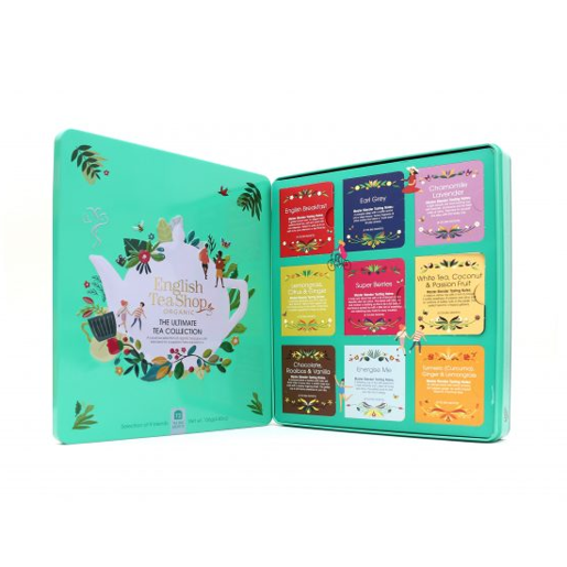 The Ultimate Tea Collection - Zielony zestaw 72 saszetki