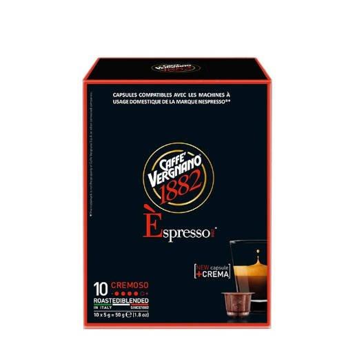 Vergnano Espresso Cremoso Nespresso 10 kapsułek