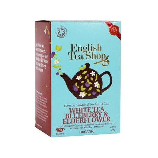 White Tea Blueberry & Elderflower - 20 saszetek