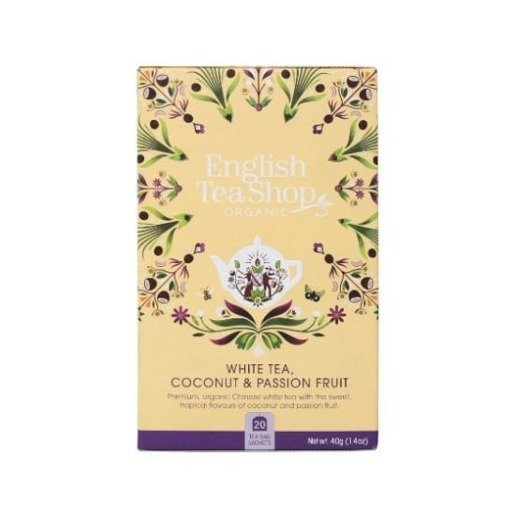 White Tea Coconut, Passion Fruit - 20 saszetek