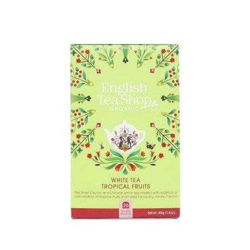 White Tea Tropicial Fruits - 20 saszetek