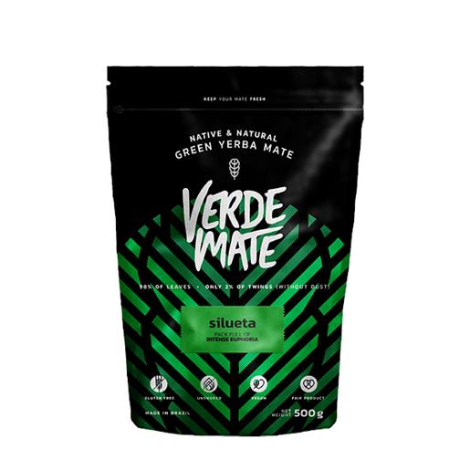 Yerba Mate Green Verde Mate Silueta 500g