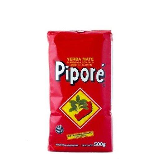 Yerba Mate Pipore Elaborada Con Palo Tradicional 500g