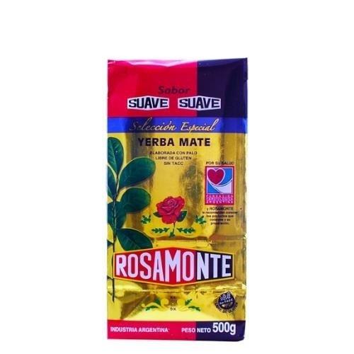 Yerba Mate Rosamonte Suave Seleccion Especial 500 g
