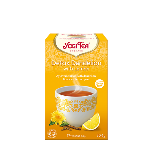Yogi Tea Detox Dandelion with Lemon 17 saszetek