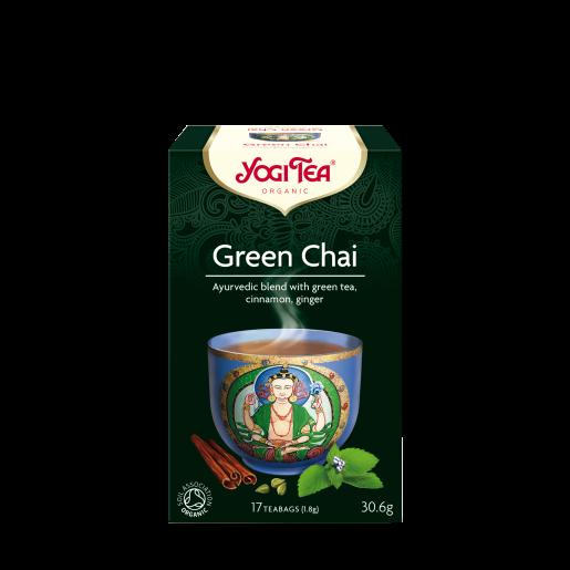 Yogi Tea Green Chai 17 saszetek