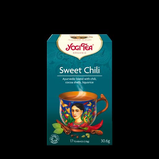 Yogi Tea Sweet Chili (słodka chili) 17 saszetek