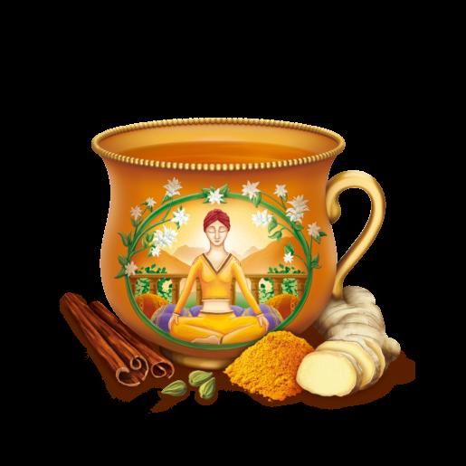 Yogi Tea - Turmeric Chai 17 saszetek herbaty z kurkumą