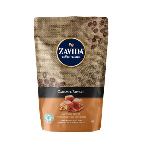 Zavida Caramel Royale 907g - kawa ziarnista