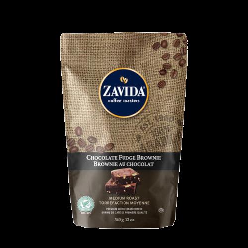 Zavida Chocolate Fudge Brownie 340g kawa ziarnista