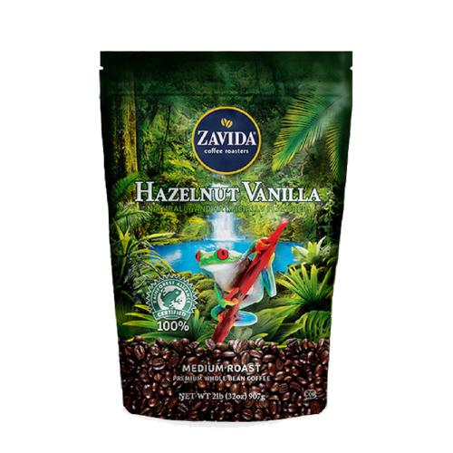 Zavida Hazelnut Vanilla 907g kawa ziarnista RFA