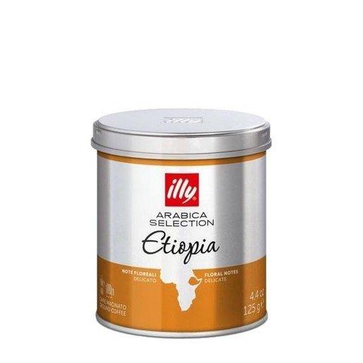 illy monoarabica Etiopia 125g kawa mielona x 6szt